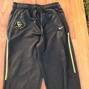 Nike FitDry University of Colorado SzM Track Pants